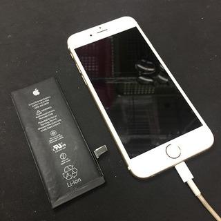 iPhone6起動しない 充電できない バッテリー交換